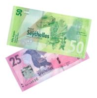 Набор из двух банкнот Сейшельских островов 25 и 50 рупий 2016 года