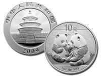 Панда - Инвестиционные монеты Китая 10 юаней