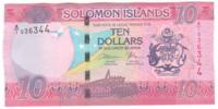 Соломоновы острова 10 долларов 2017 год