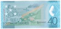 Соломоновы острова 40 долларов 2018 год (юбилейная, полимер)