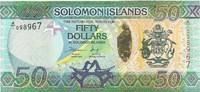 Соломоновы острова, 50 долларов, 2013 год