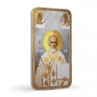 Православные святыни. Св.Николай Чудотворец - р.Ниуэ, 2 доллара, 2014 год