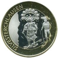 Фестиваль Silvesterchlausen (Сильвестрклаузен) Швейцария, 10 франков 2013 год