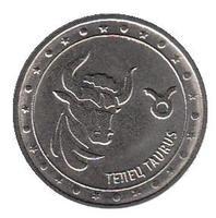 Знак зодиака. Телец - Приднестровье, 1 рубль, 2016 год