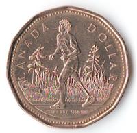 25 лет Марафону надежды, Терри Фокс - Канада, 1 доллар, 2005 год