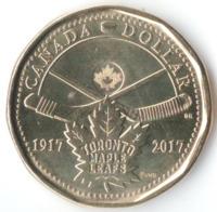 100 лет хоккейной команде Toronto Maple Leafs - Канада