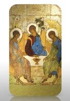 """""""Святая Троица. Православные святые"""" - Андрей Рублев"""