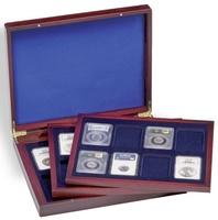 Кейс VOLTERRA TRIO de Luxe для монет в слабах