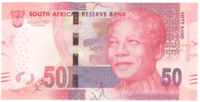 ЮАР, 50 рандов, 2018 год (Нельсон Мандела)