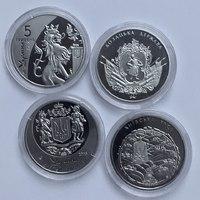 Набор монет 25 лет Независимости, Украина, 5 гривен, 2016 года -