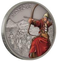 Воины истории. Монголы - красивая монета в стильном чехле