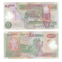 Замбия   1000 квача   2008 год
