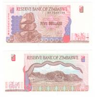 Зимбабве | 5 долларов | 1997 год
